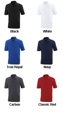 Mens Tall Performance Pique Polo - All Colors