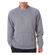 Custom UltraClub Cool and Dry Sport Crew Neck Fleece