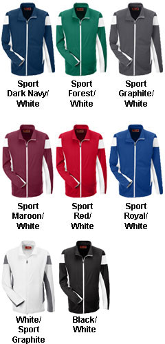 Mens Elite Performance Full Zip Warm Up Jacket - All Colors