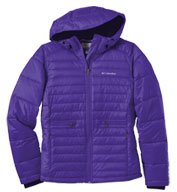 Columbia Ladies Powder Pillow Quilted Jacket