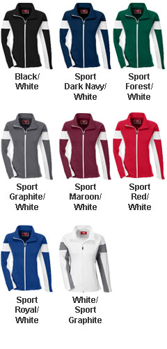 Ladies Elite Performance Full-Zip Warm Up Jacket - All Colors