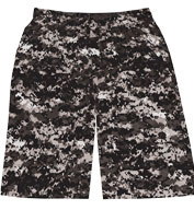 Badger Adult Digital Camo Short
