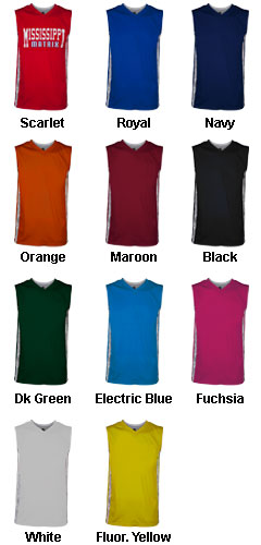Adult Matrix Basketball Jersey - All Colors