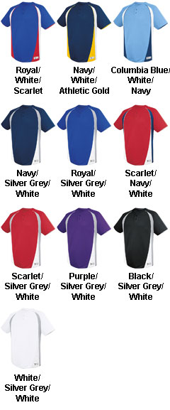 Youth Ace Two Button Jersey - All Colors