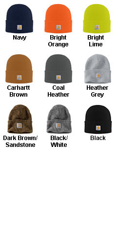 Carhartt Acrylic Watch Hat - All Colors