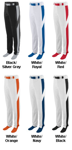 Youth Series Color Block Baseball/Softball Pant - All Colors