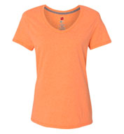 Custom Hanes Womens X-Temp® V-Neck T-Shirt