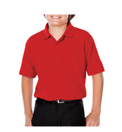 Custom Youth Moisture Wicking Value Polo