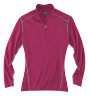 Custom Rivers End Ladies Half Zip Mock Cover Up