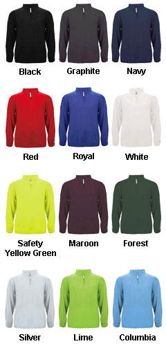 1/4 Zip Mens Lightweight Pullover - All Colors