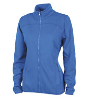 Custom Womens Waypoint Birdseye Fleece Jacket by Charles River Apparel
