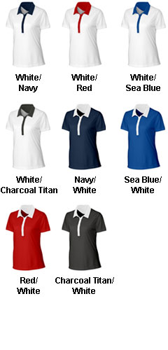 Clique Ladies Parma Colorblock Polo - All Colors