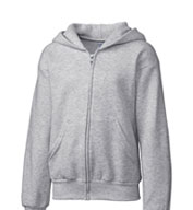 Basic Youth Fleece Full Zip Hoodie