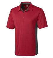 Custom Mens DryTec� Willows Color Block Polo Mens