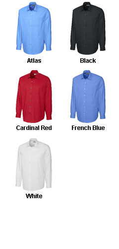 Mens Epic Easy Care Spread Collar Nailshead Dress Shirt in Big & Tall Sizes - All Colors