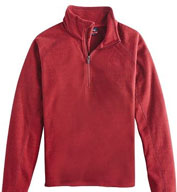 Custom Mens Terramo Textured Fleece Pullover