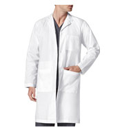 Custom Wonder Wink Mens Long Lab Coat