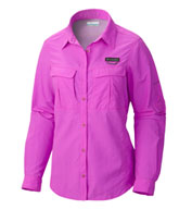 Custom Womens Cascades Explorer ® Long Sleeve Shirt by Columbia