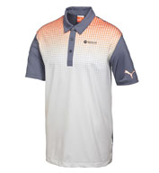 Custom Puma Mens Glitch Polo