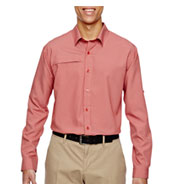Custom Mens Excursion Textured Performance Shirt Mens
