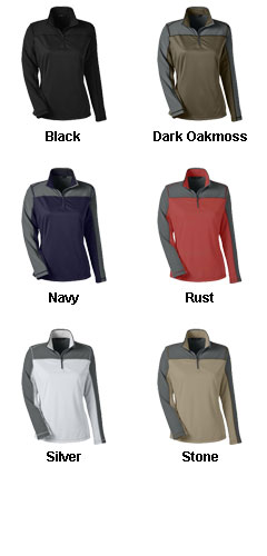 Ladies Excursion Circuit Performance Half Zip - All Colors