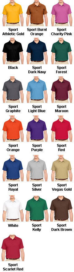 Mens Charger Performance Polo - All Colors