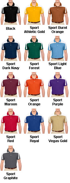 Mens Victor Performance Polo - All Colors