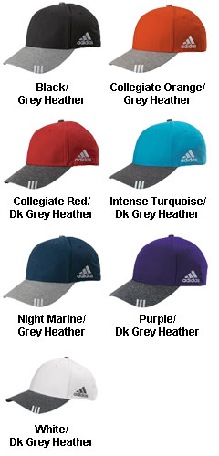 Adidas Golf Collegiate Heather Cap - All Colors