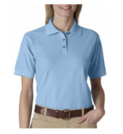 Custom UltraClub Ladies Whisper Pique Polo