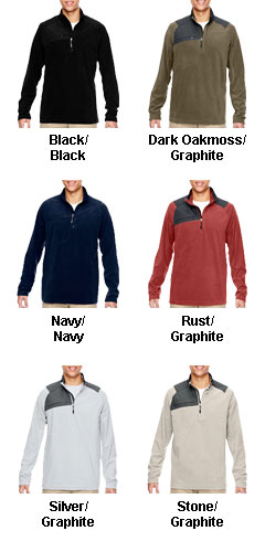 Mens Excursion Trail Half-Zip Fleece - All Colors