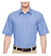 Mens Advantage Snap Closure Short-Sleeve Shirt