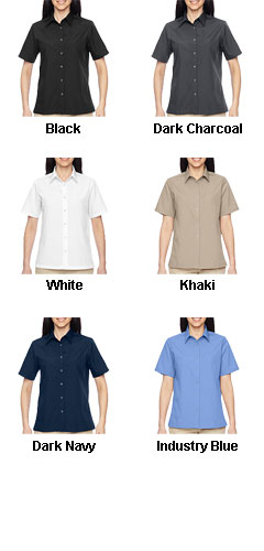 Ladies Advantage Snap Closure Short-Sleeve Shirt - All Colors