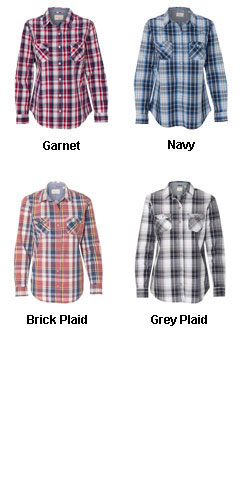 Weatherproof� Ladies Vintage Plaid Long Sleeve Shirt - All Colors