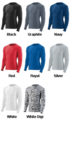 Youth Hyperform Compression Long Sleeve Shirt - All Colors