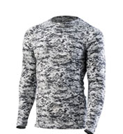 Custom Youth Hyperform Compression Long Sleeve Shirt
