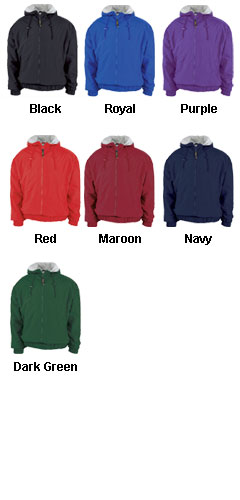 Youth Full Zip Sideline Jacket - All Colors