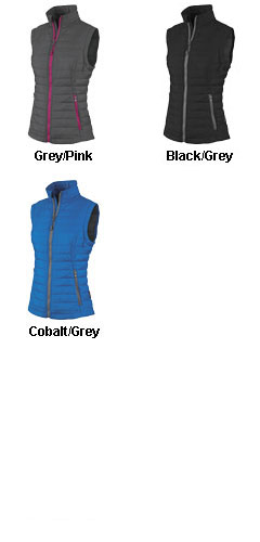 Ladies Radius Quilted Vest by Charles River Apparel - All Colors