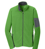 Custom Mens Summit Fleece Full-Zip Jacket