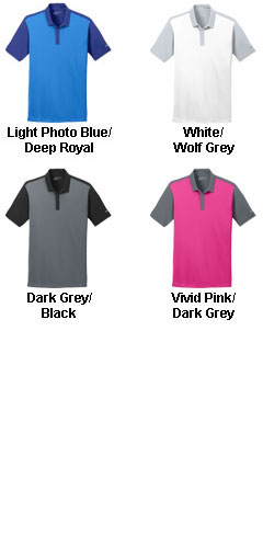Nike Golf Dri-FIT Colorblock Icon Polo - All Colors