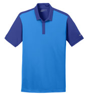 Custom Nike Golf Dri-FIT Colorblock Icon Polo Mens