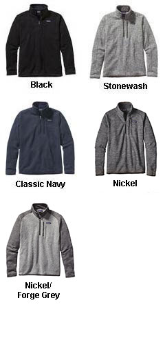 Mens Patagonia Better Sweater� 1/4 Zip Pullover - All Colors