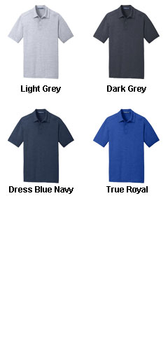 Mens Digi Heather Performance Polo - All Colors
