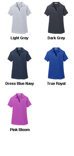 Ladies Digi Heather Performance Polo - All Colors