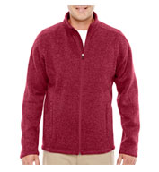 Custom Mens  Full-Zip Sweater Fleece Jacket