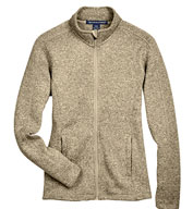 Custom Ladies Full-Zip Sweater Fleece Jacket
