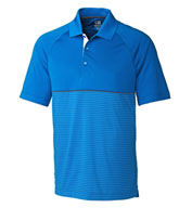Custom Mens CB DryTec™ Junction Stripe Hybrid Polo