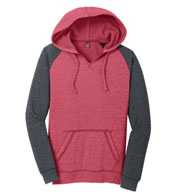Custom Juniors Lightweight Fleece Raglan Hoodie