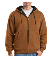 Custom Cornerstone® Heavyweight Full-Zip Hooded Sweatshirt Mens