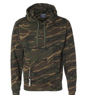 Custom Tailgate Poly Hooded Fleece Mens