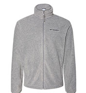 Columbia Mens Colorblock Full-Zip Steens Mountain Fleece Jacket